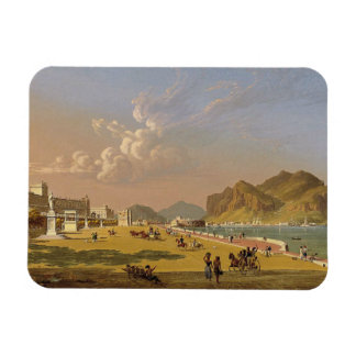 Robert Salmon - View of Palermo Magnet