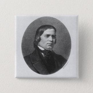 Robert Schumann, 1839 Button
