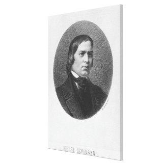 Robert Schumann, 1839 Canvas Print