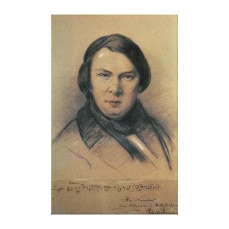 Robert Schumann  1853 Canvas Print