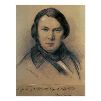 Robert Schumann  1853 Postcard