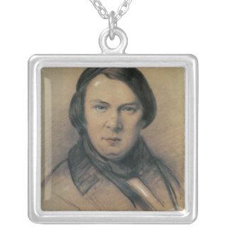 Robert Schumann  1853 Silver Plated Necklace