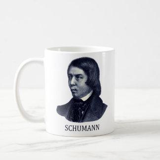 Robert Schumann azul Tazas