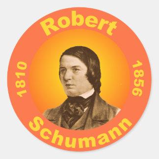 Robert Schumann Classic Round Sticker