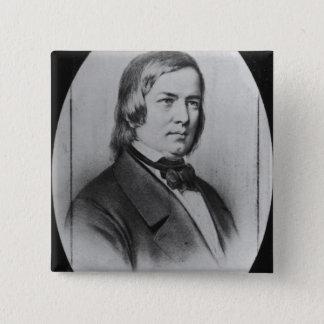 Robert Schumann  engraved from a photograph Button
