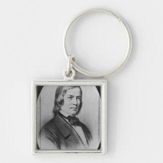 Robert Schumann  engraved from a photograph Keychain