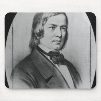 Robert Schumann  engraved from a photograph Mouse Pad