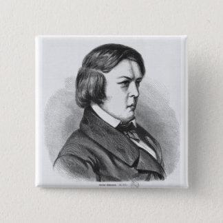 Robert Schumann Pinback Button