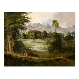 Robert Scott Duncanson - Chapultpec Castle Postcard