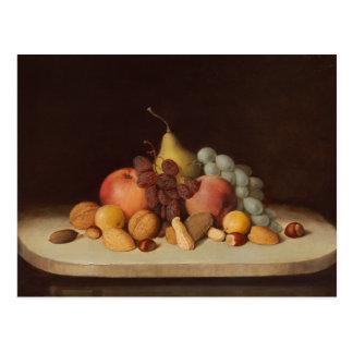 Robert Scott Duncanson - Still Life with Fruit Postcard