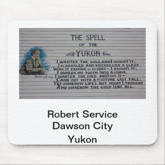 Robert Service Yukon Poet Mouse Pad