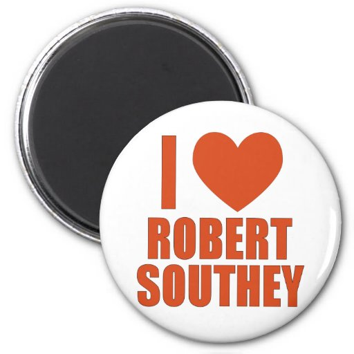 Robert Southey 2 Inch Round Magnet