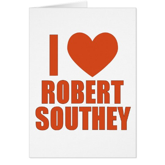 Robert Southey Card