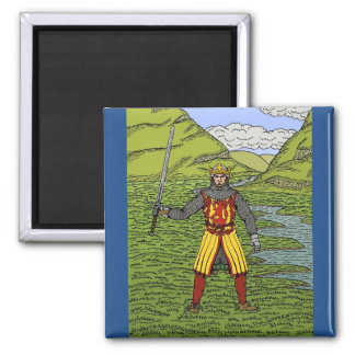 Robert the Bruce 2 Inch Square Magnet