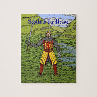 Robert the Bruce Scotland the Brave Puzzle
