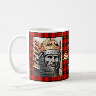 Robert the Bruce Wallace Tartan Mug