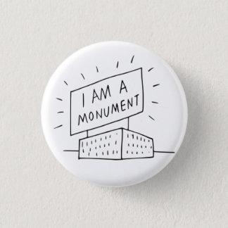 Robert Venturi I Am A Monument Button