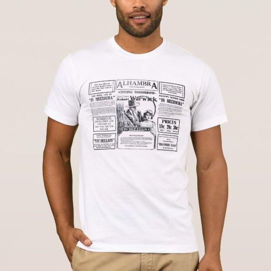 Robert Warwick Constance Binney movie ads 1919 T-Shirt