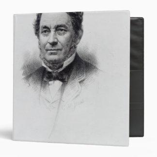 Robert Wilhelm Bunsen, engraved by C.H Jeens 3 Ring Binder