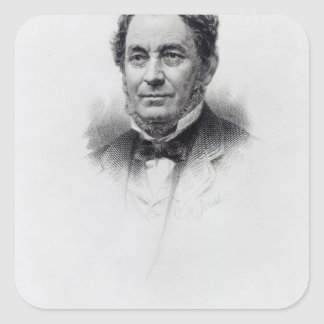 Robert Wilhelm Bunsen, engraved by C.H Jeens Sticker