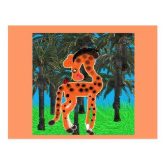 Roberta And The Ladybug's Visit Postcard