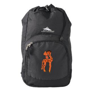 Roberta, In Color High Sierra Backpack
