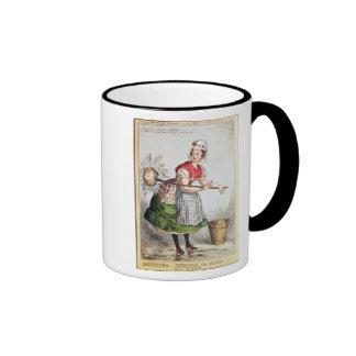 Robertena Peelena the Maid of All Work Coffee Mugs