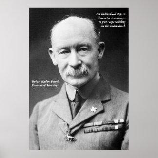 Roberto Baden-Powell Póster