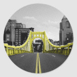 Roberto Clement Bridge Classic Round Sticker