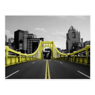 Roberto Clement Bridge Postcard