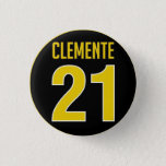 Roberto Clemente Honorary Button