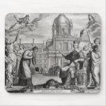 Roberto de Sorbon y Cardenal Richelieu Tapete De Ratones
