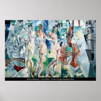Roberto Delaunay - ciudad del poster de París