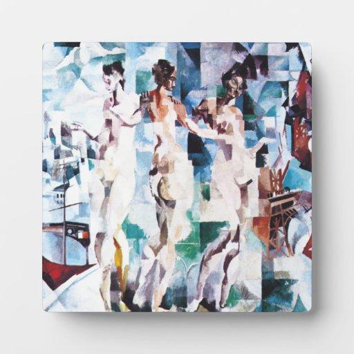Roberto Delaunay la ciudad de la placa de París