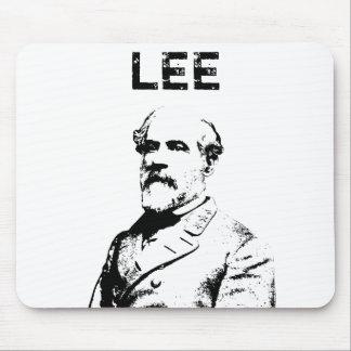 Roberto E. Lee -- Blanco y negro Alfombrilla De Raton