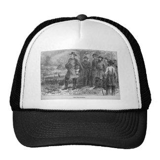 Roberto E Lee con sus soldados en Fredericksburg Gorra