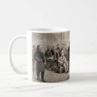 Roberto E. Lee Surrenders a Ulises S. Grant Tazas De Café