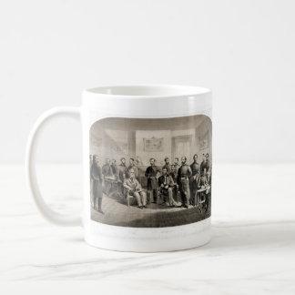 Roberto E. Lee Surrenders a Ulises S. Grant Taza