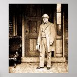 Roberto E. Lee Vintage Mathew Brady Póster
