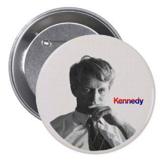 Roberto F. Kennedy Pin Redondo De 3 Pulgadas