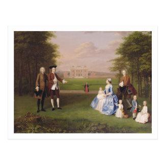 Roberto Gwillym de Atherton y de su familia, Tarjetas Postales