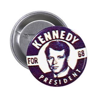 Roberto Kennedy - botón Pins