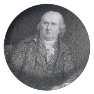 Roberto Morris (1733-1806) grabado por Thomas B. N Platos De Comidas