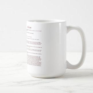 Roberto (significado) taza clásica