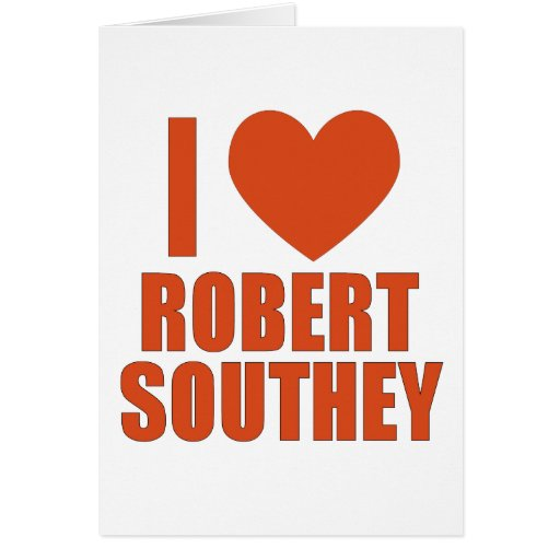 Roberto Southey Tarjeta De Felicitación