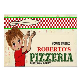 Roberto's Pizzeria Party Card