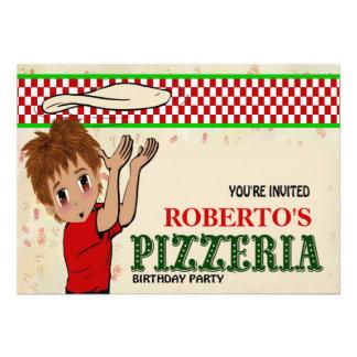 Roberto's Pizzeria Party Invite