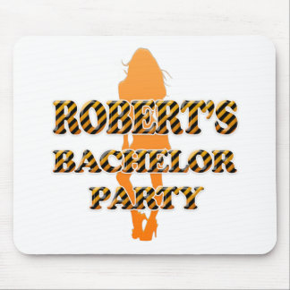 Robert's Bachelor Party Mouse Pad