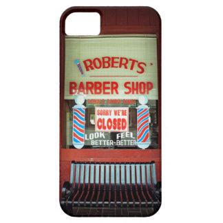 Roberts Barber Shop iPhone 5 Case