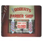 Roberts Barber Shop Journals
